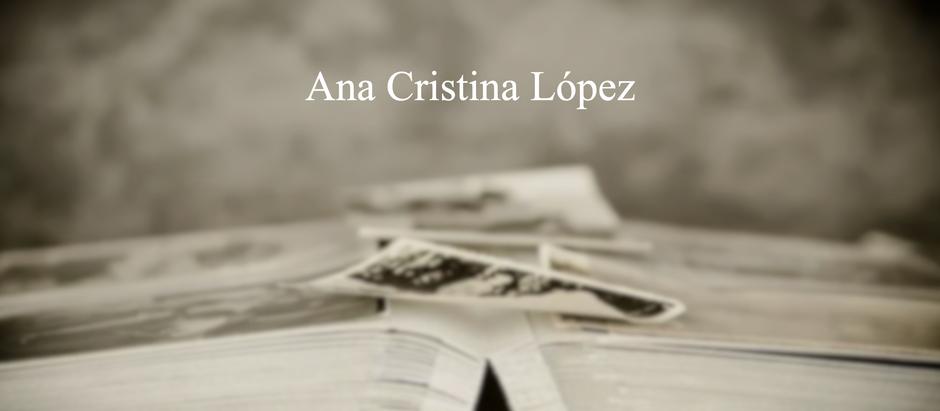 ¿Y mi memoria?; Ana Cristina López