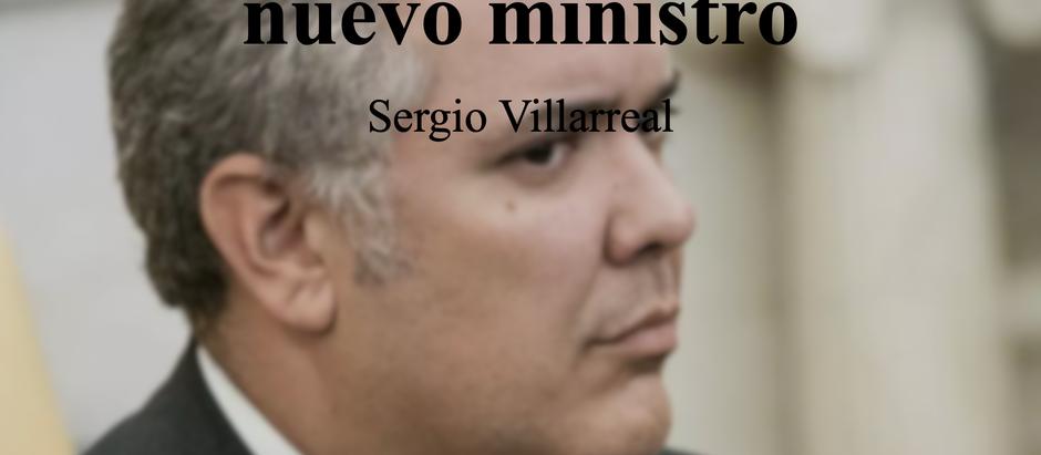 El disfraz de Duque y su nuevo ministro; Sergio Villarreal