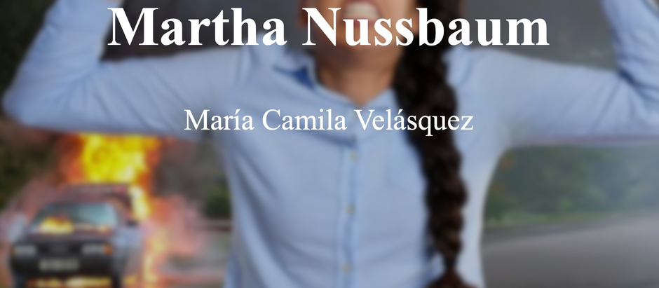 """""""Anger"""" en Audre Lorde y Martha Nussbaum; María Camila Velásquez"""