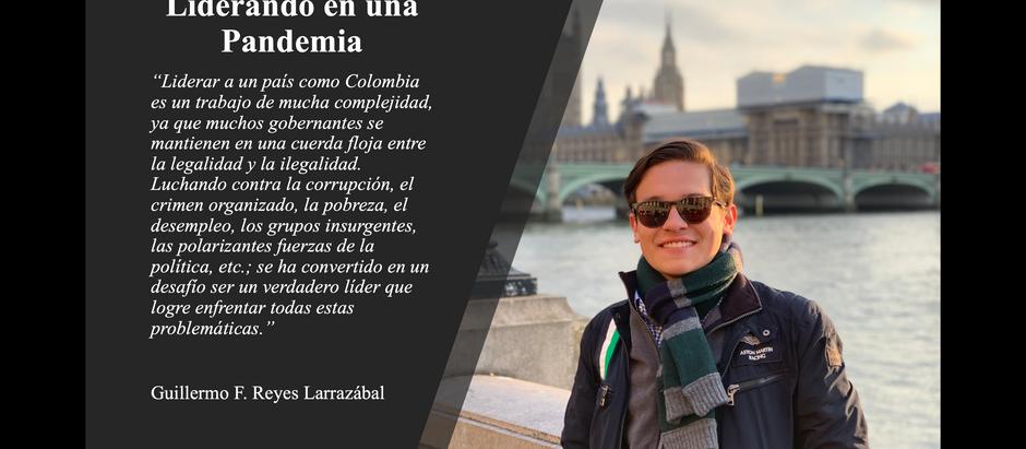 Liderando durante una pandemia; Guillermo F. Reyes L.