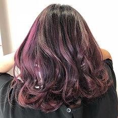 urakami satsuki kana ._Violet pink._._Shiny and healthy._.__k