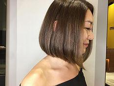 urakami satsuki JAPANESE HAIR SALON SINGAPORE HAIR CUT COLOR bob matt green healty
