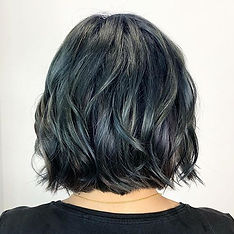nakata kana Blue lavender highlights__ハイライトでブルーとバイオレ