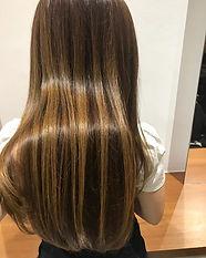 ura satsuki LONG HAIR SINGAPORE HAIR CUT COLOR GOLD BROWN