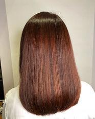 urakami satsuki JAPANESE HAIR SALON SINGAPORE HAIR CUT COLOR ORANGE BOB YELLOW