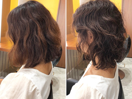 Natural Wave Hair/くせ毛