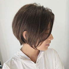 ura satsuki 🍃Elegance Bob🍃_._I cut the long hair t