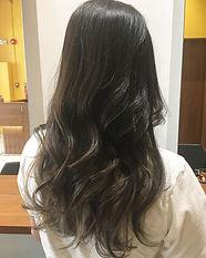 ura satsuki LONG HAIR SINGAPORE HAIR CUT COLOR ASH NATURAL