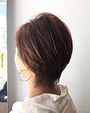 ura satsuki SHORT HAIR SINGAPORE HAIR CUT ORANGE
