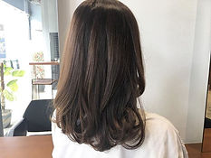 urakami satsuki JAPANESE HAIR SALON SINGAPORE HAIR CUT COLOR NATURAL BROWN ASH