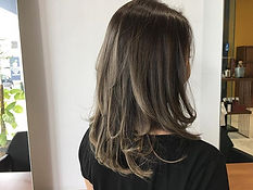 urakami satsuki JAPANESE HAIR SALON SINGAPORE HAIR CUT COLOR ASH GREY BLEACH