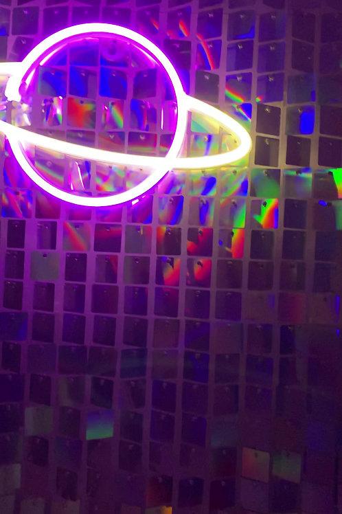 Sequin light walls