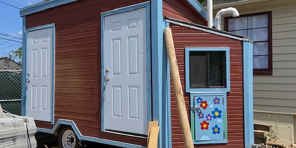 Paint Tiny Homes for the Unhoused and More Outdoor Fun!