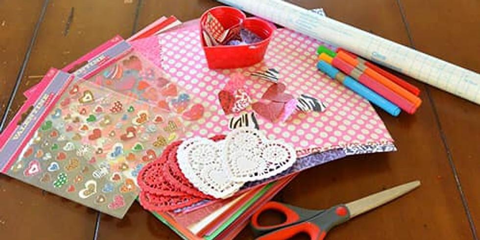 Create Valentines for Hospitalized Children