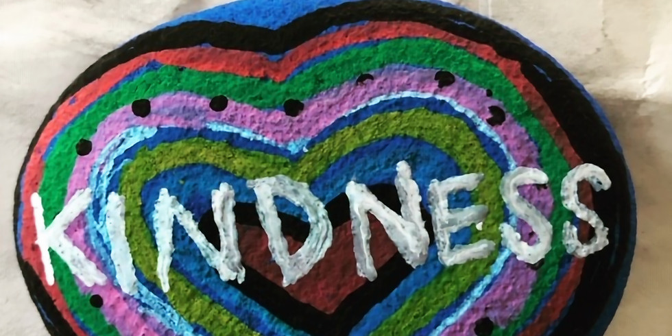 CANCELLED DUE TO CORONAVIRUS THREAT Paint Kindness Rocks . . . to Give Away!