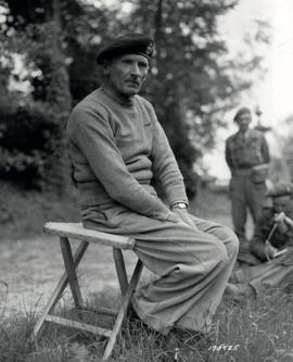 Le général Montgomery