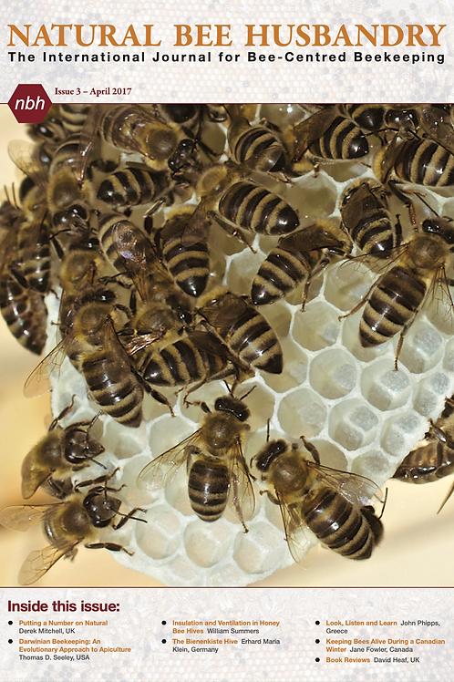 Natural Bee Husbandry Issue 3 - Back copy