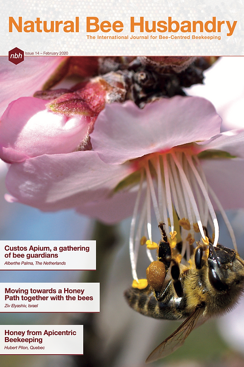 Natural Bee Husbandry Issue 14 - Back copy