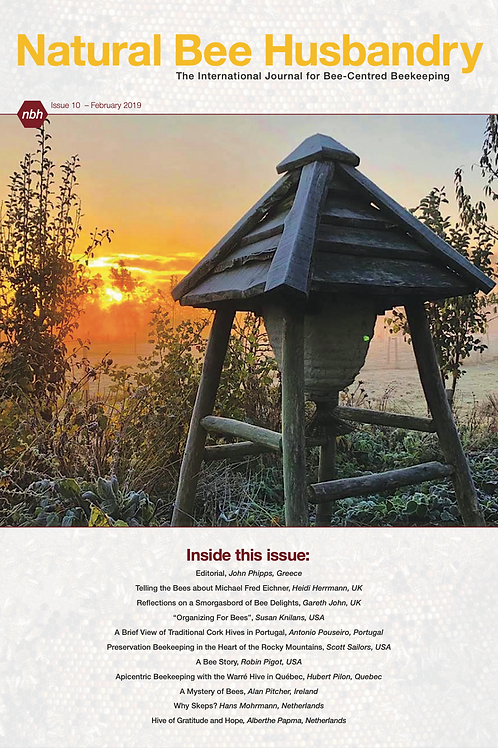 Natural Bee Husbandry Issue 10 - Back copy