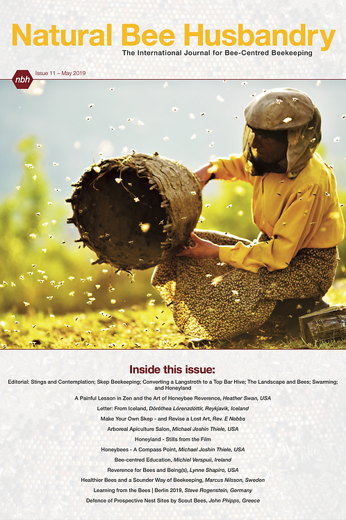 Natural Bee Husbandry Issue 11 - Back copy