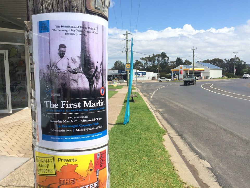 The First Marlin Game Fishing Documentary Screens in Bermagui
