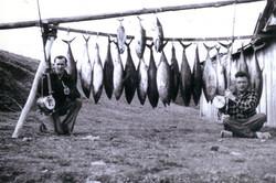 Jack Taylor and Reg Lyne, Bermagui