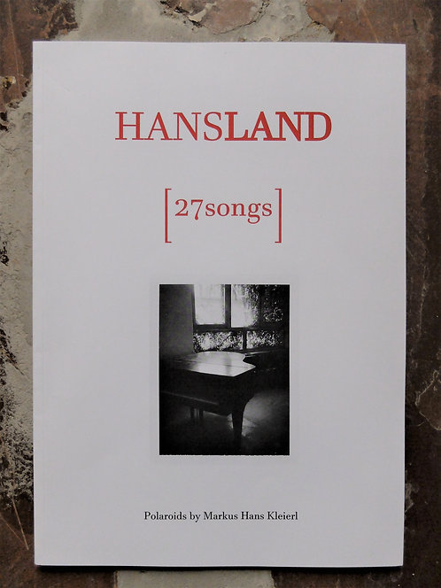 "Der Katalog | The Catalogue ""27songs"" [2017]"