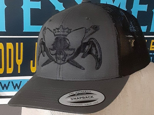 Embroidery catbat hat