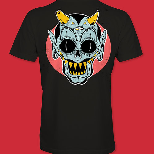 blue demon shirt