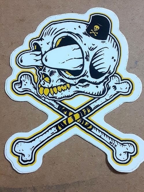 Fink bones sticker