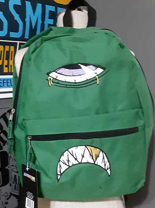 Monster bag green