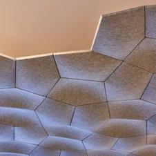 Decorative Acoustic Ceiling Tiles