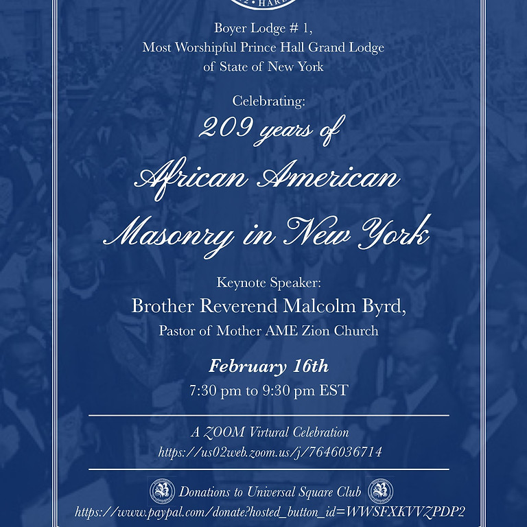 209 Years of Prince Hall Masonry in New York: The Boyer Lodge Story