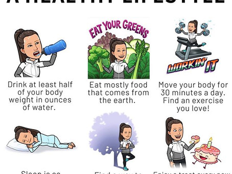 6 Simple Changes To A Healthy Lifestyle