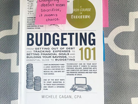 Budgeting 101: Nuggets of Wisdom