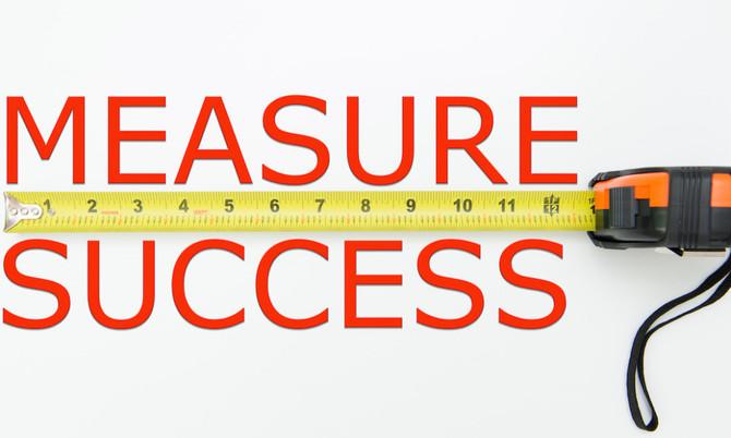 הצלחה של עסק מניב נמצאת במדידה