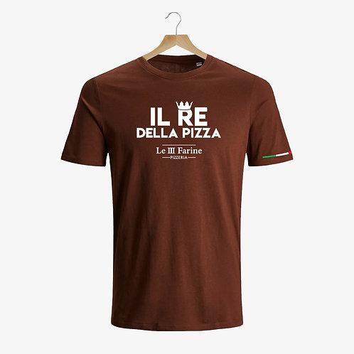 T-Shirt Il Re della Pizza - LE TRE FARINE ®