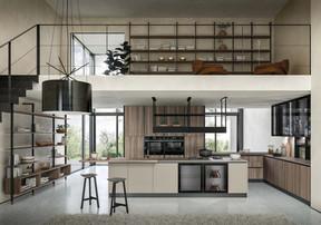 кухня Gicinque Xilo+