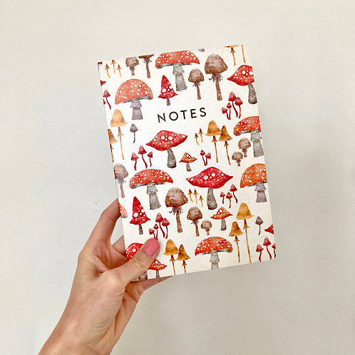 A5 Toadstool Notebook