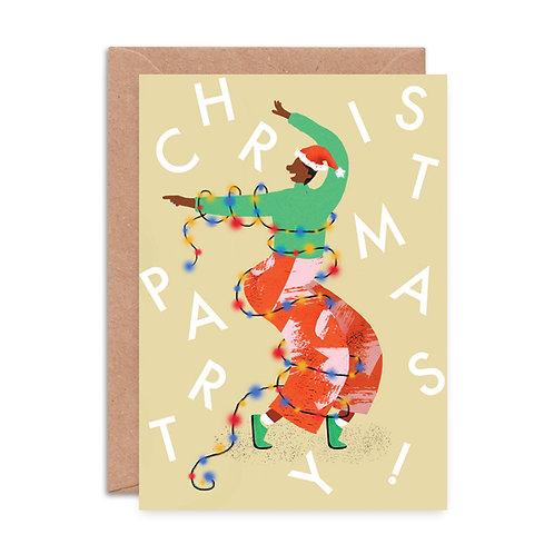 Christmas Voguing Greeting Card