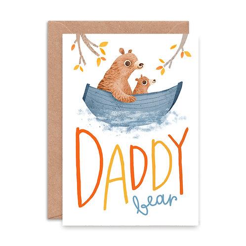 Daddy Bear Greeting Card
