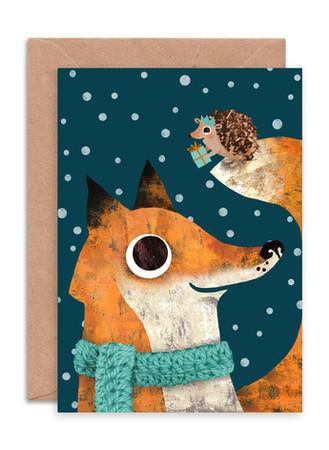 ENCHR021 Fox & Hedgehog.jpg