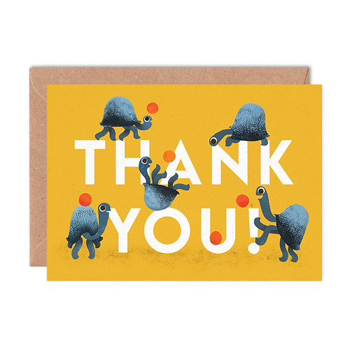 Thank You Tortoises Greeting Card
