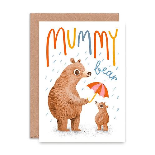 Mummy Bear Greeting Card
