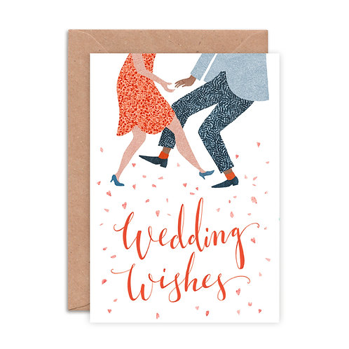 Wedding Wishes Greetings Card
