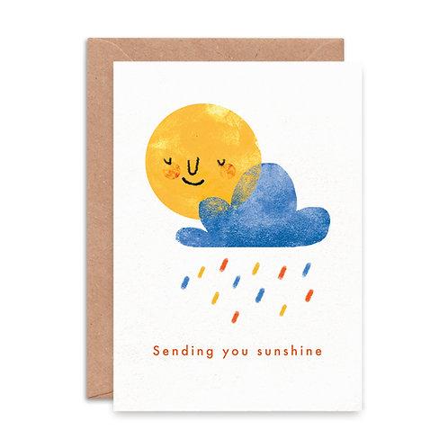 'Sending You Sunshine' Greeting Card