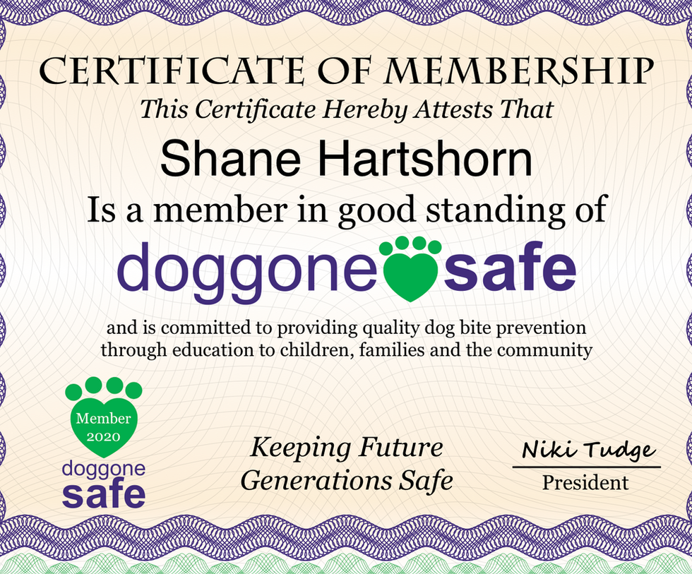 DoggoneSafe Member Certificate2020 copy.