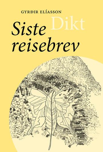 """Gyrðir Elíasson (f. 1961) er ein av dei fremste diktarane i sin generasjon i Norden. Han har fått mange prisar, m.a. Nordisk råds pris i 2011 for novellesamlinga Mellom trærne. I 2016 gav Nordsjøforlaget ut eit breitt utval av Gyrðir Elíassons dikt frå og med den spesielle debuten i 1983 til og med Her veks ingen sitrontre frå 2012. Síðasta vegabréfið kom ut i 2016. Dikta der er varsame, men manande brev ikkje frå, men om den endelege reisa, som alltid er undervegs. Diktaren lyttar seg fram, ser etter teikn og finn dei til dømes i sambandet mellom dei særeigne steinformasjonane Hljóðaklettar (ekkoklippene) på Nordaust- Island og koreansk skrift. Men kan tittelen dessutan vere eit uttrykk for at diktet som sjanger vert meir og meir usynleg? Den islandske tittelen tyder òg """"det siste passet"""". Kan hende ber han i seg eit håp om ei grenselaus verd der ein ikkje treng pass for å ferdast?  Også denne gongen er dikta meisterleg gjendikta av Oskar Vistdal."""