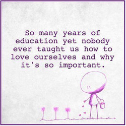Love ourselves quote