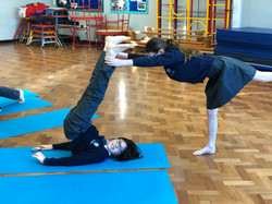 Shoulder stand and W3 partners, W21